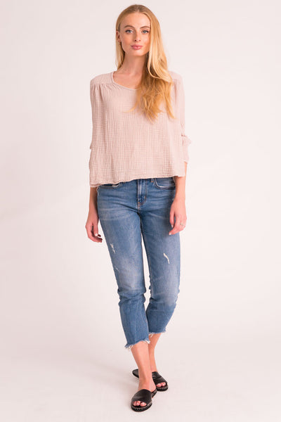 Venice Top Gauze - Flint
