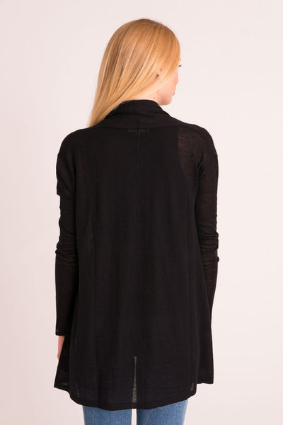 Cardigan Tissue Cashmere - Black