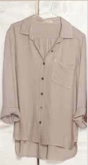 Pocket Shirt Rayon  - Sand