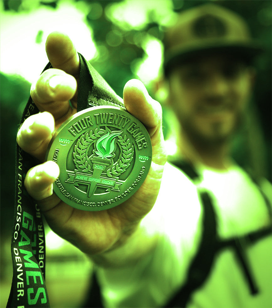 2016 Limited Edition 420 Games Runner's Medal