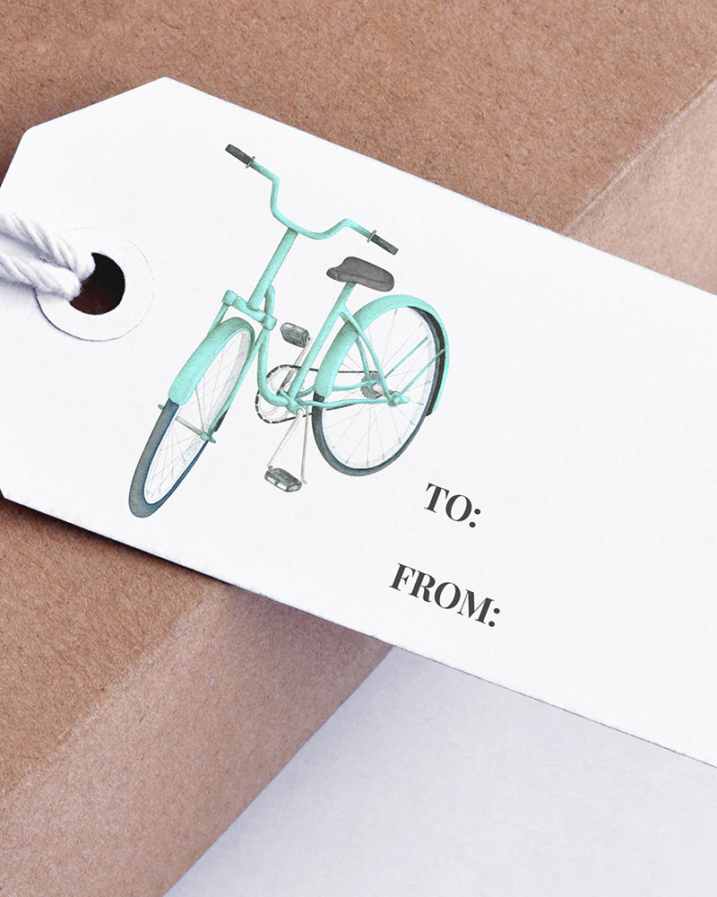 8 FREE Printable Watercolor Gift Tags