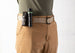 Mens And Womens D-Ring Canvas Belt Khaki XXL