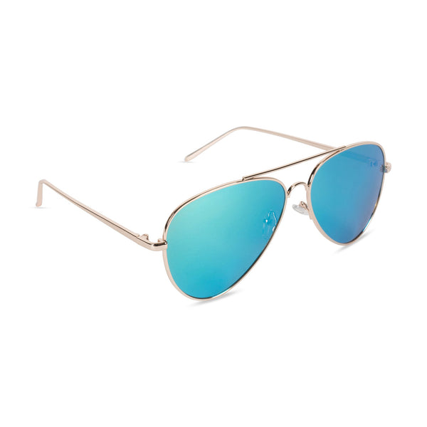 Aviator Sunglasses Lake Blue