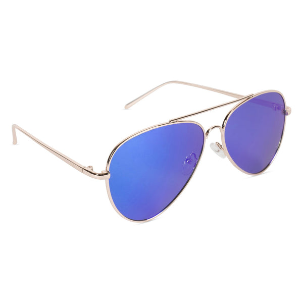 Aviator Sunglasses Electric Blue