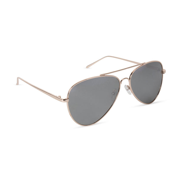 Aviator Sunglasses Titanium Black