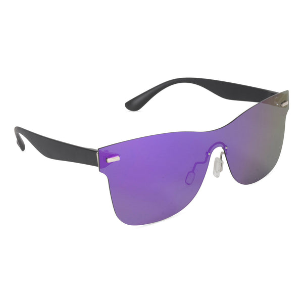 Full Mirror Sunglasses Purple