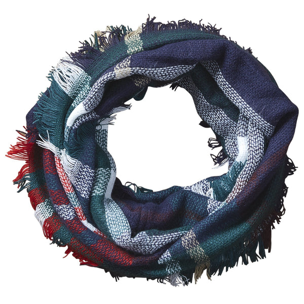 Bountiful Blanket Infinity Scarf - Green