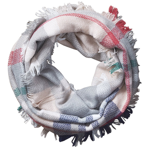 Bountiful Blanket Infinity Scarf - Pink