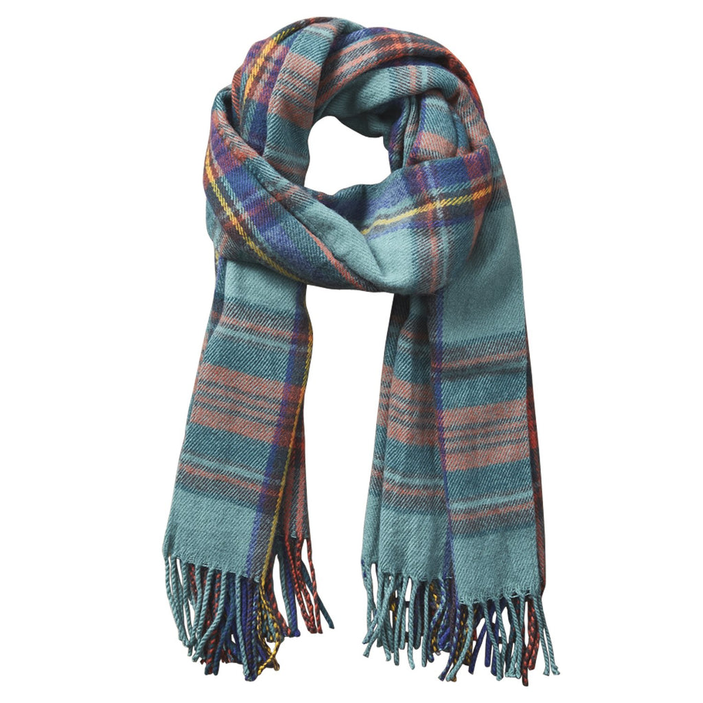 Classic Plaid Scarf - Classic Green