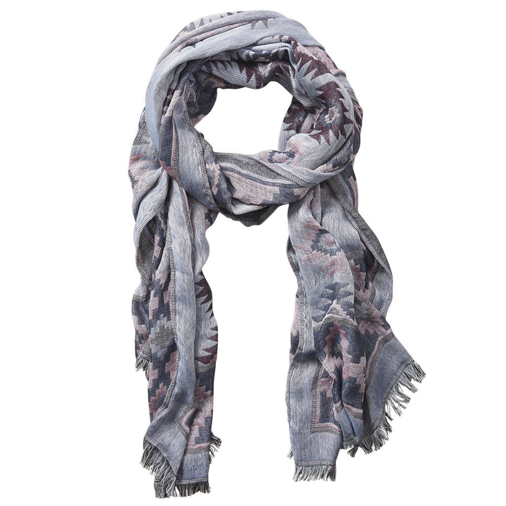 Aztec Tapestry Scarf - Pink