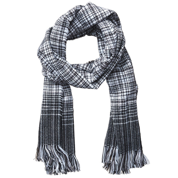 Arbor Lane Plaid Scarf - Black