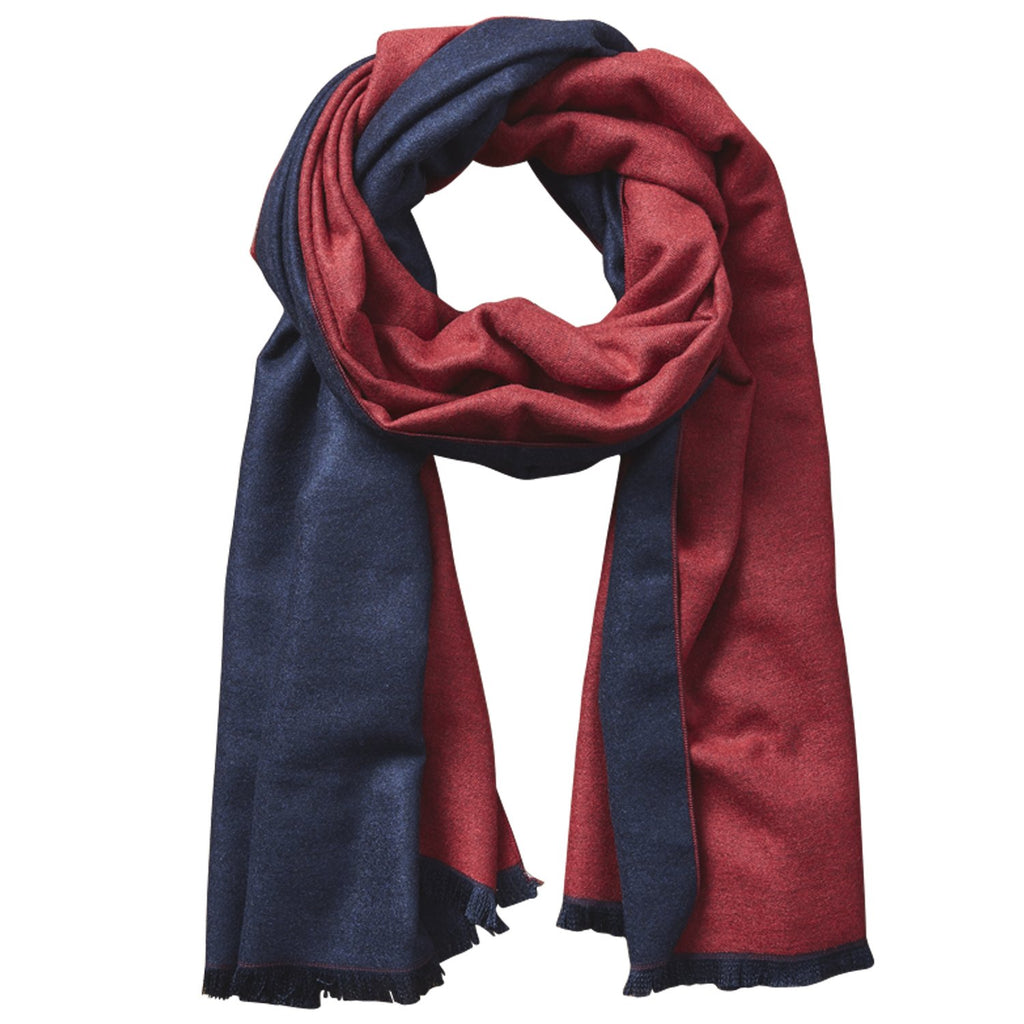 Newbury Classic Solid Scarf - Red