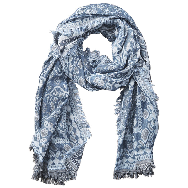 Nepal Tapestry Scarf - Teal