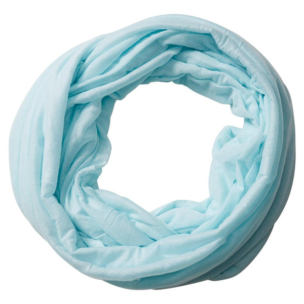 Wholesale Scarves - Everyday Infinity - Sky Blue - Tickled Pink