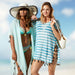 Bede Beach Cover Up - Teal