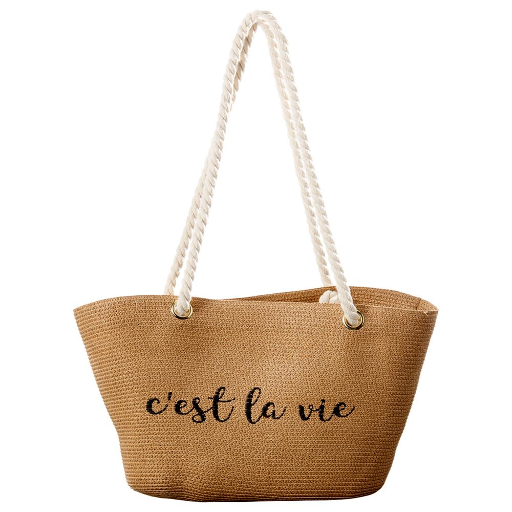 Wholesale Scarves - C'Est La Vie Bag - Tickled Pink
