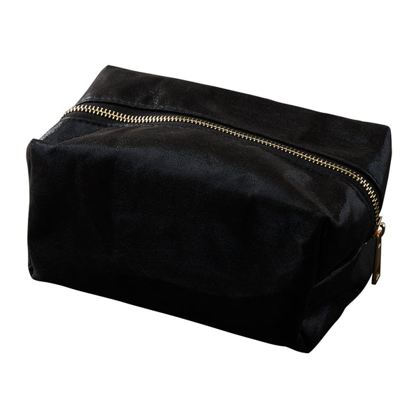 Black Glam Makeup Bag