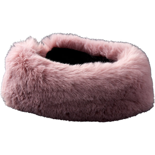 Blush Ski Bunny Faux Fur Headband