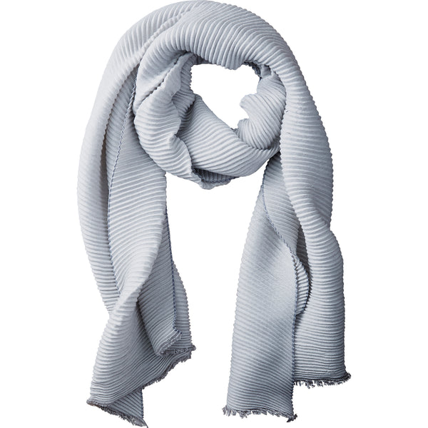 Frost Solid Ridged Scarf