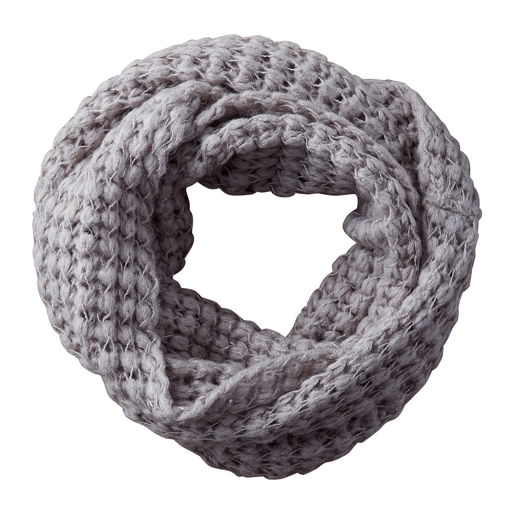 Harriet Heavy Knit Infinity - Slate