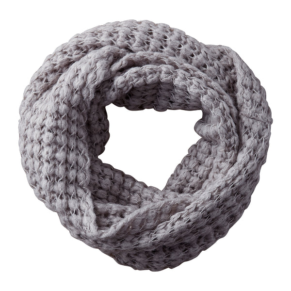 Slate Harriet Heavy Knit Infinity