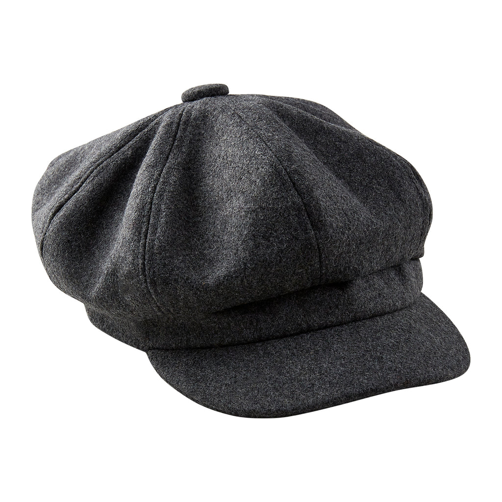 Gray News Boy Cap