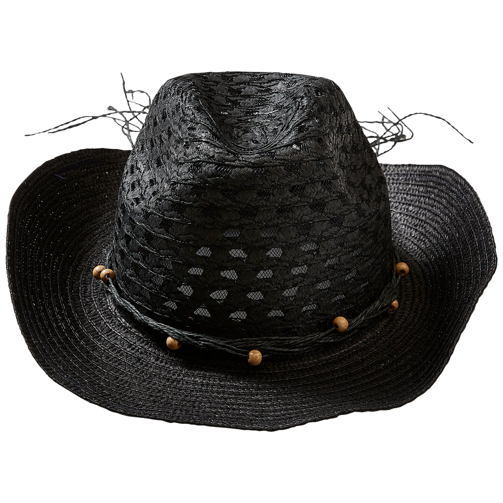 Black Beach Cowboy Hat