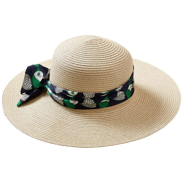 Lady In Green Cape Cod Floppy Hat