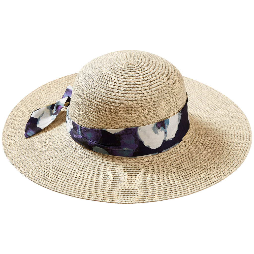Watercolor Floral Cape Cod Floppy Hat