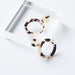 Ivory Tortoise Ally Earrings