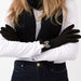 Isla Bow Gloves - Black