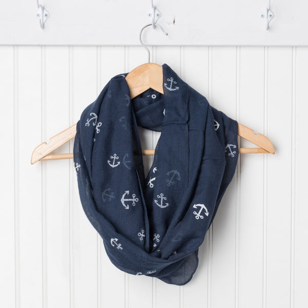 Anchors Away Infinity - Navy/White