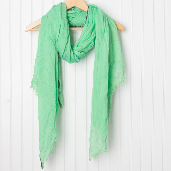 Bright and Happy Scarf - Green
