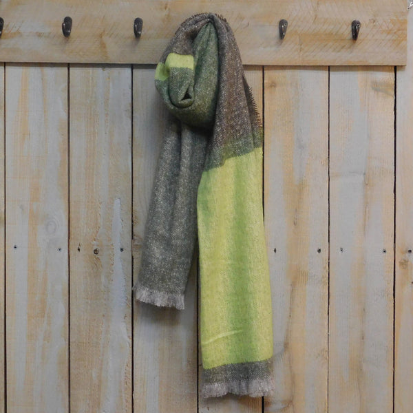 Colorblock Classic Scarf - Green