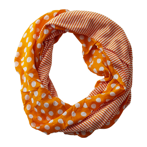 Dots & Stripes Infinity - Orange
