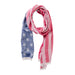 American Flag Scarf - Red, White, & Blue