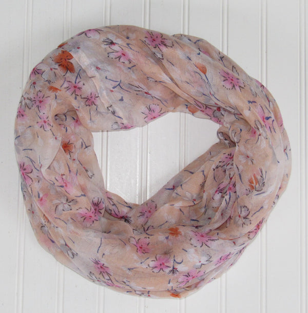 Floral Breeze Infinity - Peach