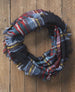 Bountiful Blanket Infinity Scarf - Black