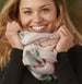Bountiful Blanket Infinity Scarf - Wine