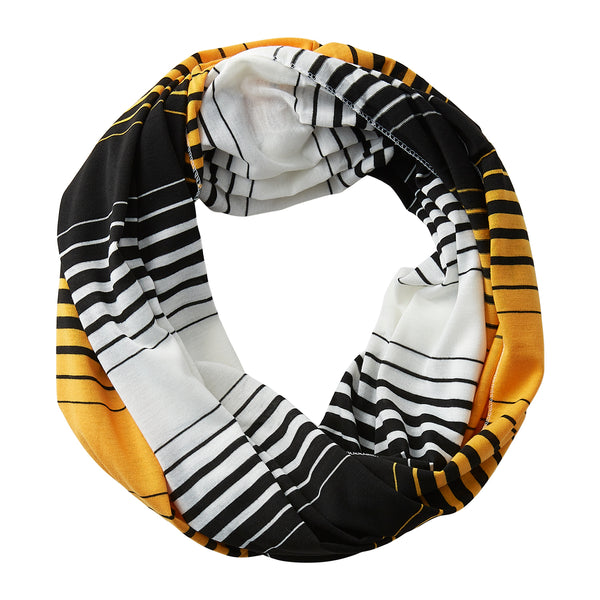 Striped T-Shirt Infinity - Black Athletic Gold