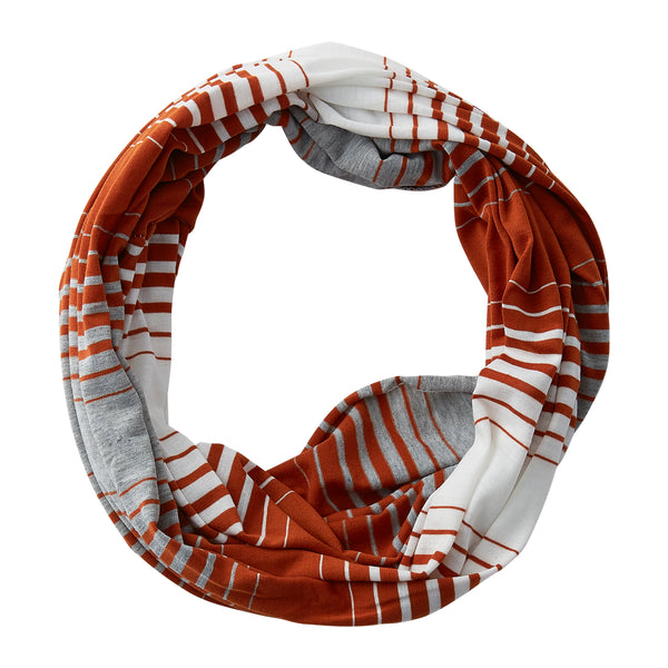 Striped T-Shirt Infinity - Burnt Orange