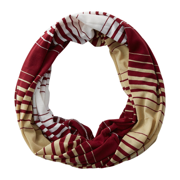Striped T-Shirt Infinity - Garnet Gold