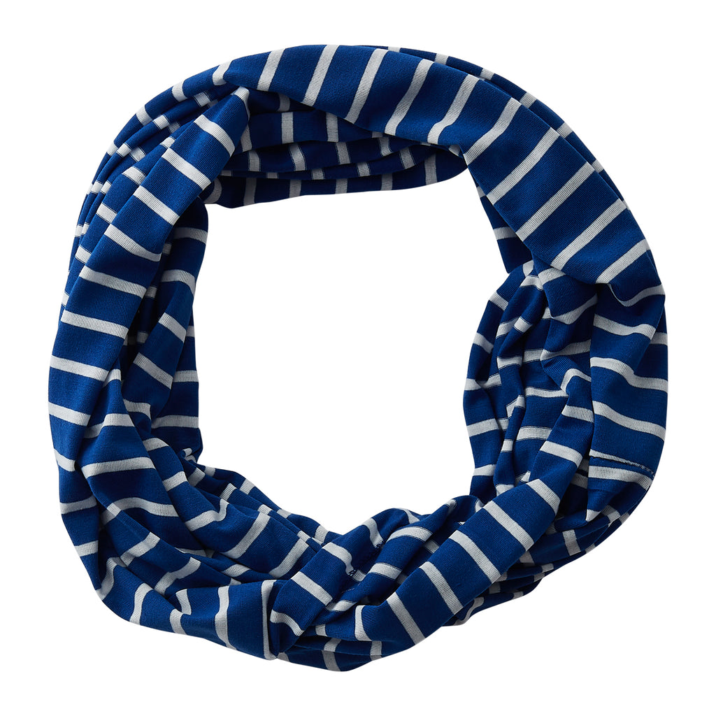 Striped Sport Infinity - Royal Blue