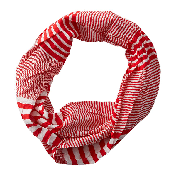 Varied Stripes Infinity - Red