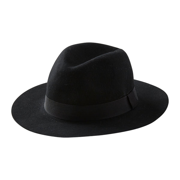 Urban Adventurer Wool Hat - Black