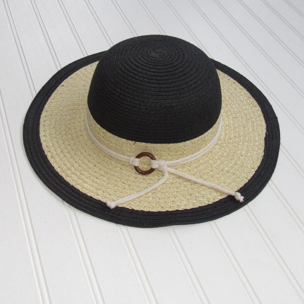 Harbor Sun Hat - Black