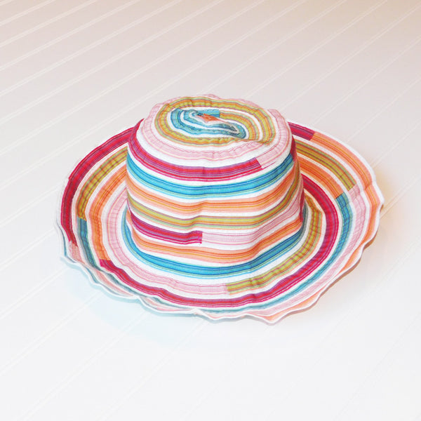 Cheerful Multicolored Garden Hat - Multicolored