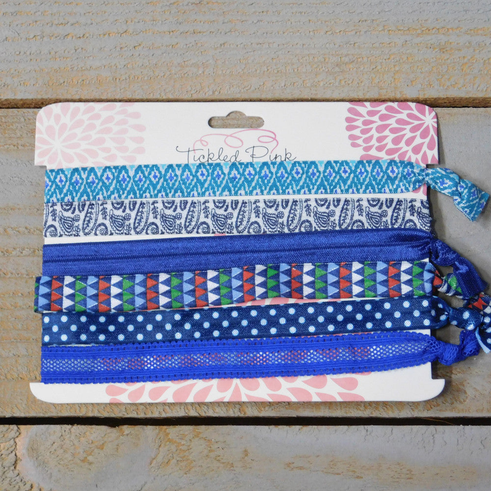 Stretch Headbands - All Things Blue