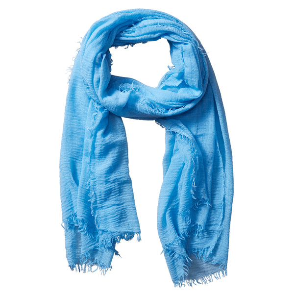 Insect Shield Summer Scarf - Light Blue