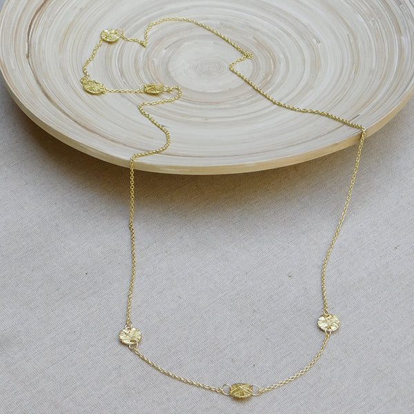Elegant Threads Chain Necklace - Gold